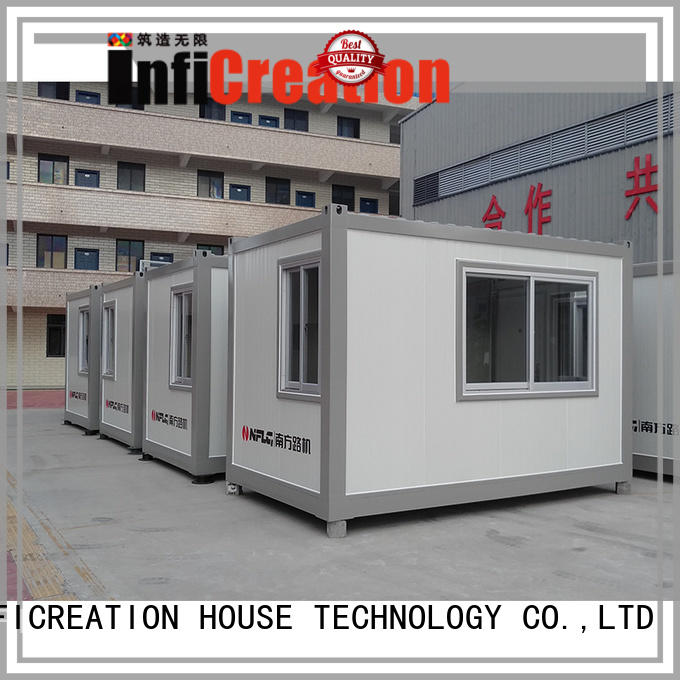 InfiCreation prefabricated container homes factory price for carport
