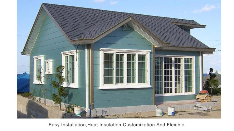 InfiCreation economical pre manufactured homes factory price for accommodation-3