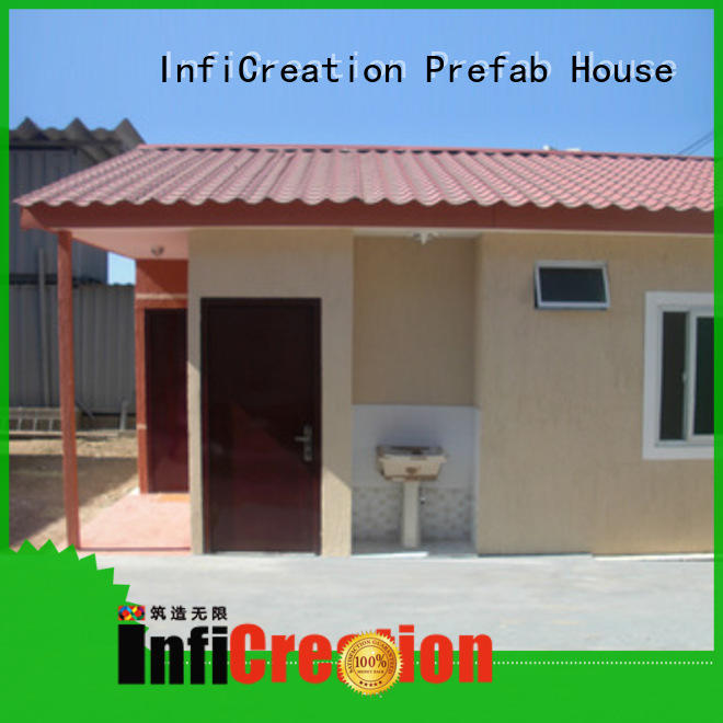 InfiCreation long lasting modular container homes manufacturer for carport