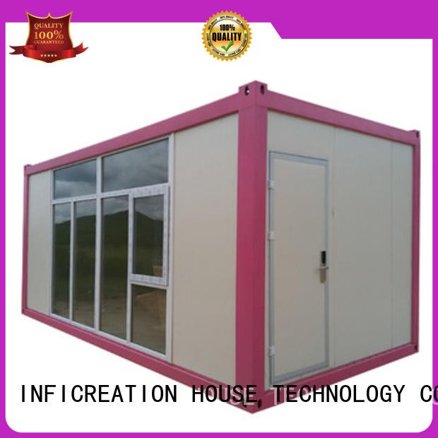 InfiCreation long lasting storage container homes factory price for toilet
