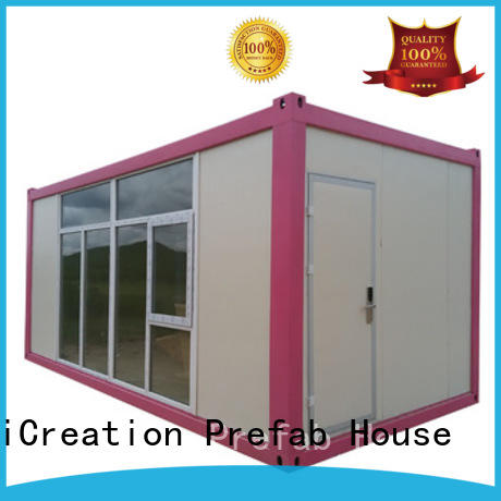 InfiCreation prefabricated container homes directly sale for carport