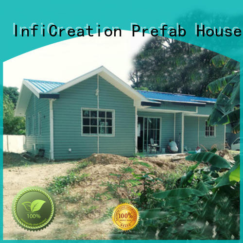 steel pre manufactured homes factory price for resorts