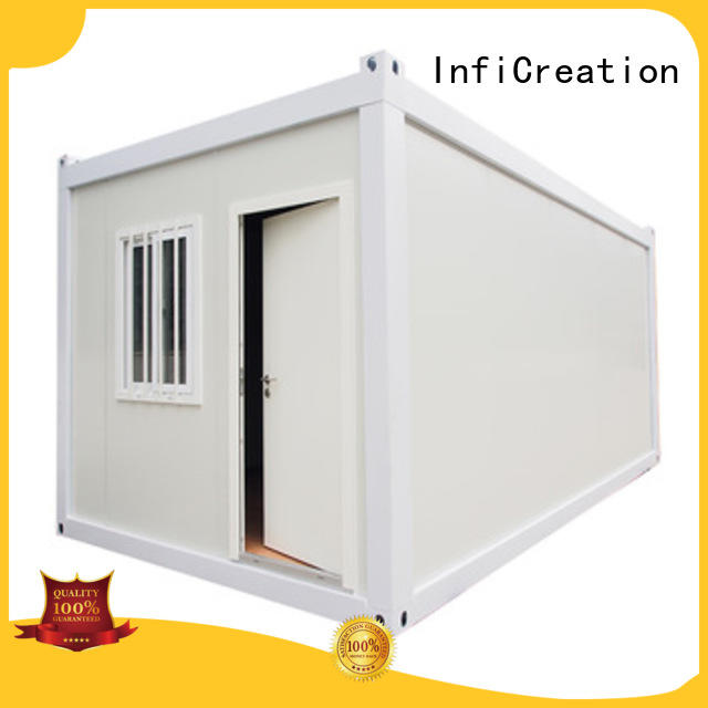 InfiCreation durable prefabricated container homes factory price for toilet