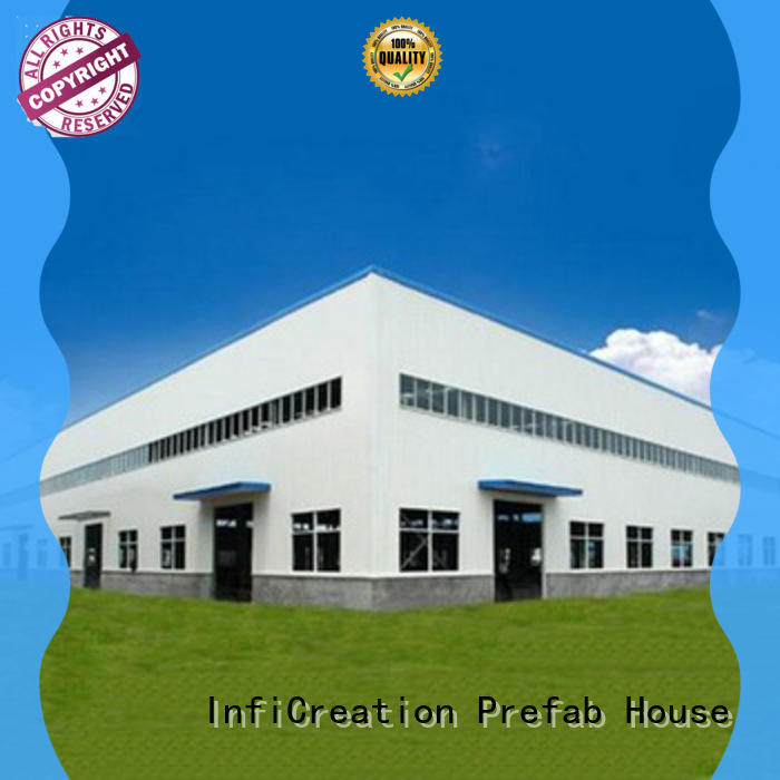 InfiCreation prefabricated steel warehouse manufacturer for storage
