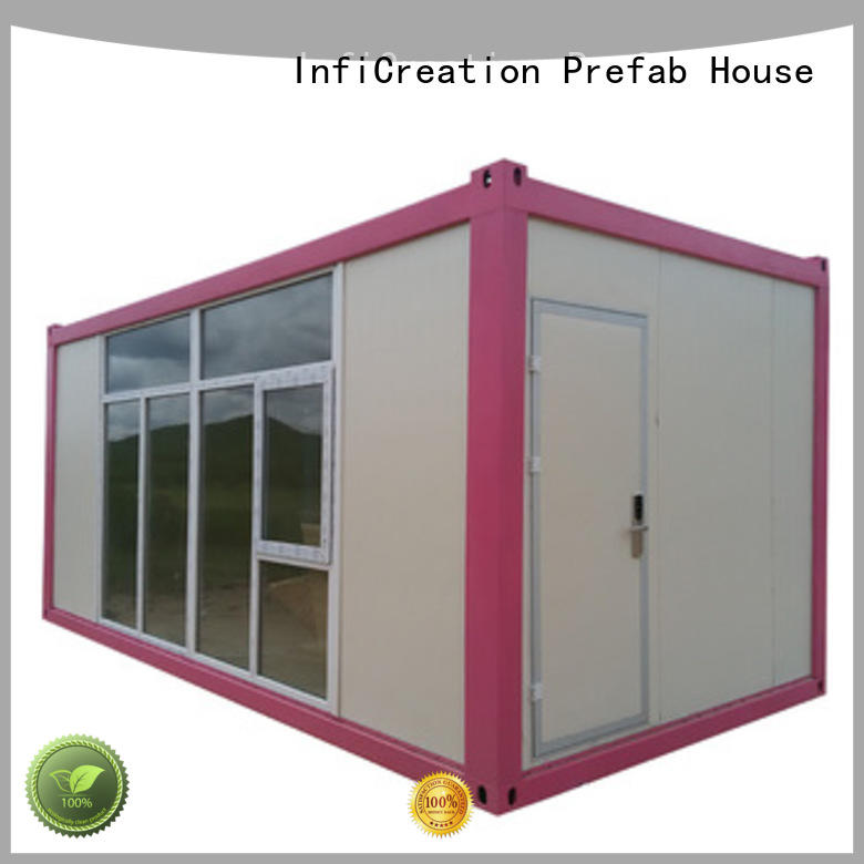 InfiCreation storage container homes customized for toilet