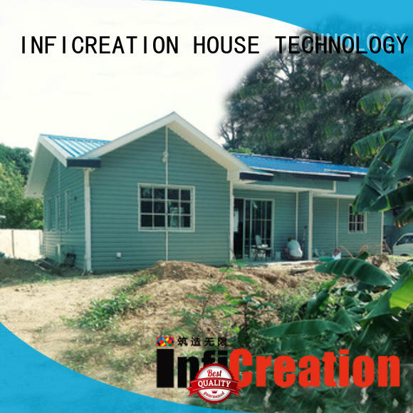 InfiCreation economical pre built homes designer for hotel