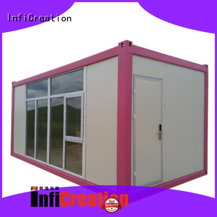 InfiCreation low cost storage container homes supplier for toilet