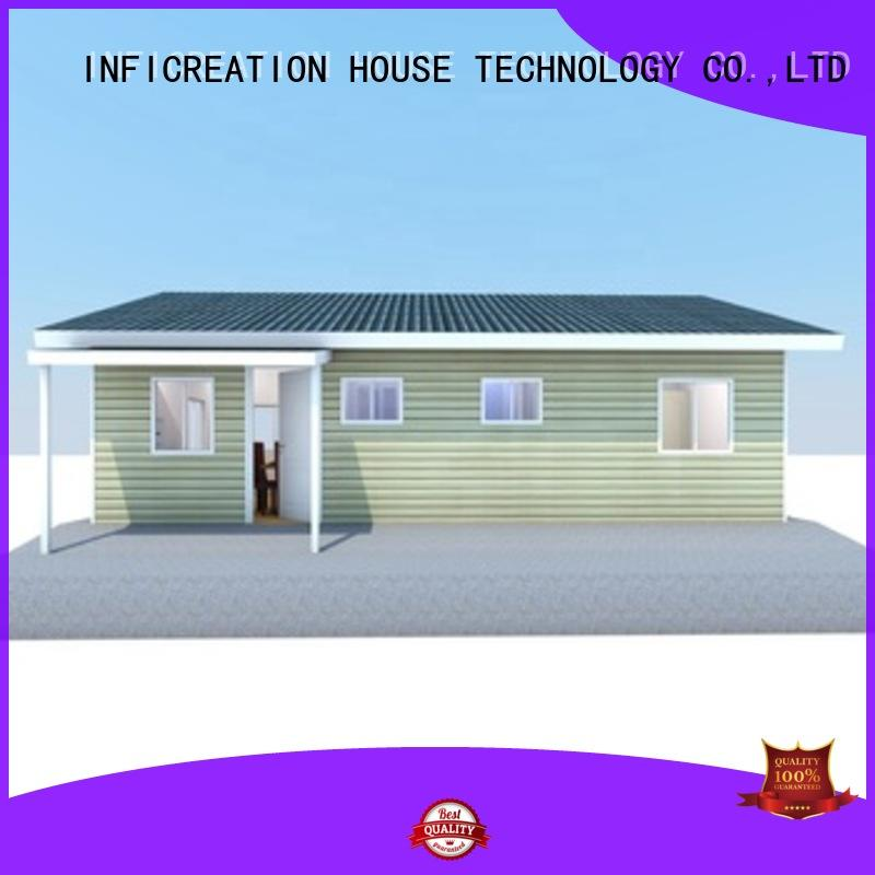 InfiCreation portable pre built houses custom for hotel