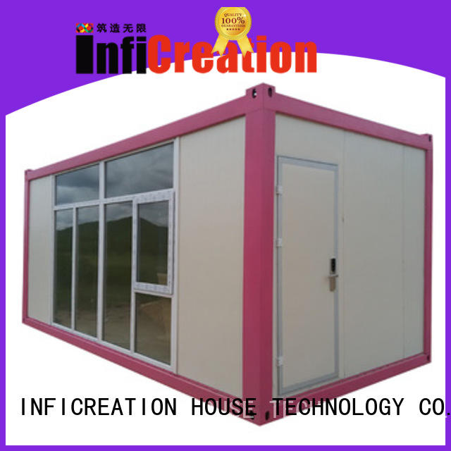 InfiCreation prefab container house customized for carport