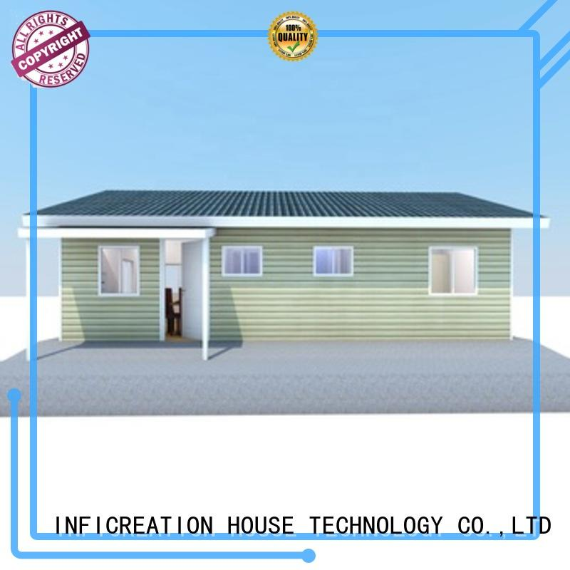 InfiCreation pre manufactured houses custom for entertainment centers