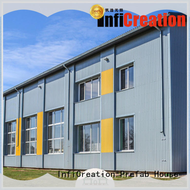 InfiCreation prefabricated warehouse buildings manufacturer for cargo