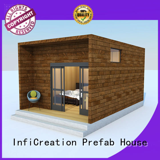 InfiCreation comfortable pre manufactured homes custom for hotel