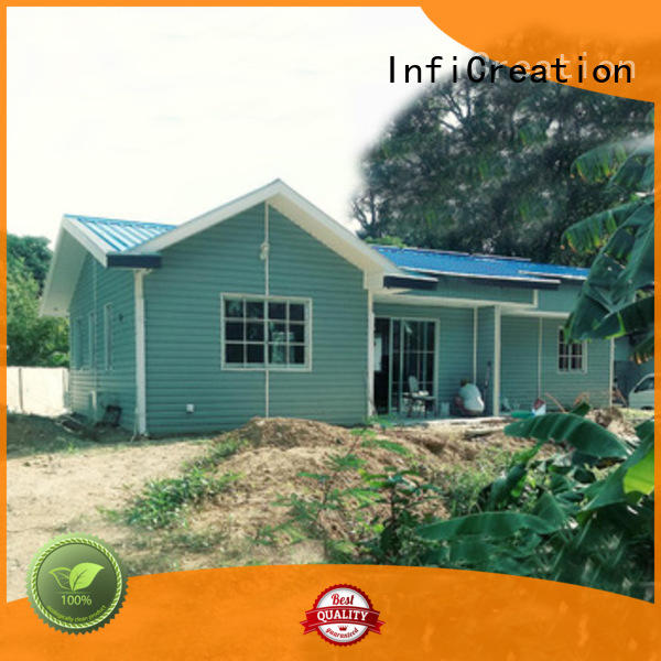 InfiCreation premade cottages manufacturer for hotel