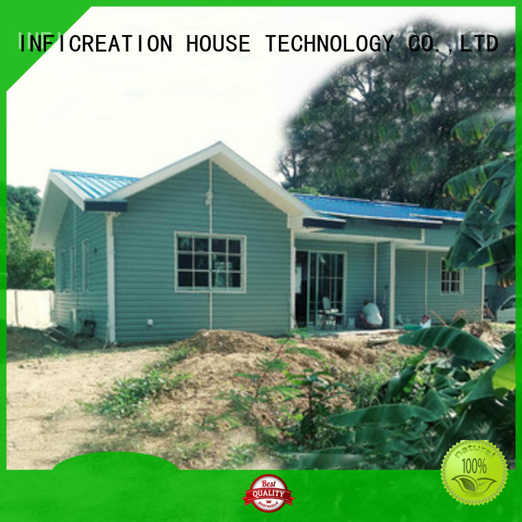 economical prefabricated villa custom for accommodation