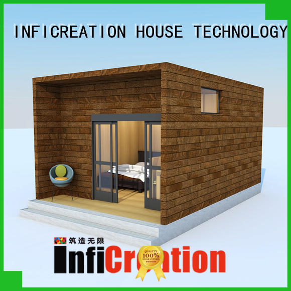 InfiCreation mobile pre built homes designer for hotel
