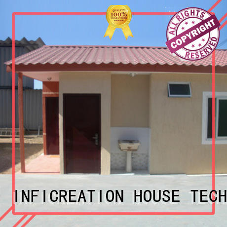 InfiCreation low cost pre built container homes directly sale for toilet