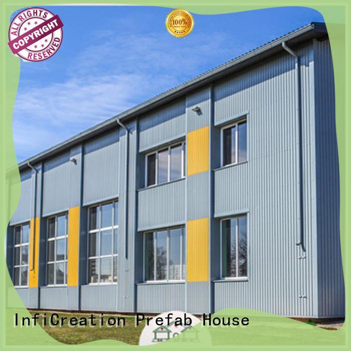 modern prefab steel warehouse supplier for company