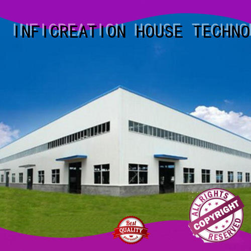 InfiCreation durable pre manufactured warehouse factory price for company